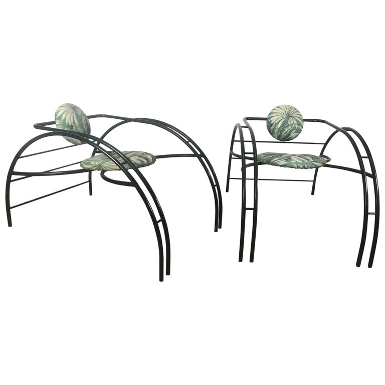 Quebec 69 Spider Chairs, Les Amisco Memphis Style, Space Age For Sale