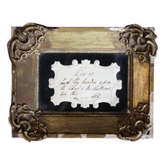 Queen Adelaide, Dowager Queen of England Autograph Dated 1842 Ephesian