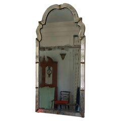 Queen Anne Beveled Glass Pier Mirror, circa 1710