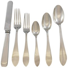 Queen Anne by Tiffany and Co Sterling Silver Flatware Set Service 72pcs Dinner