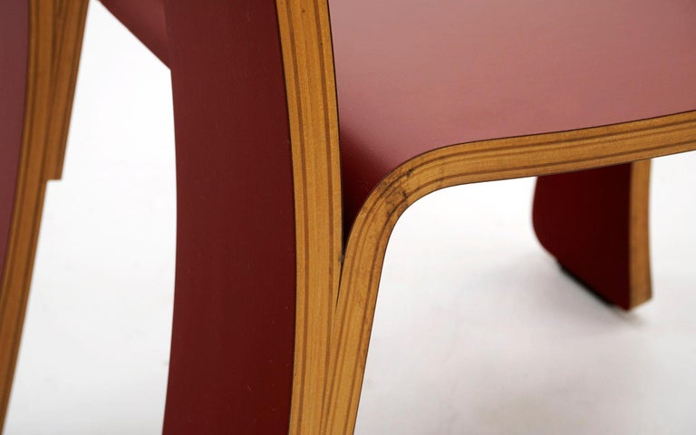 Queen Anne Chair in Red by Robert Venturi for Knoll For Sale 1