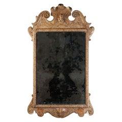 Queen Anne Gesso Mirror