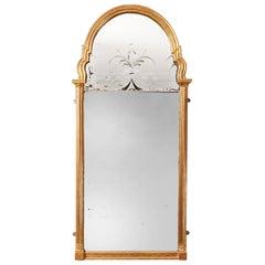 Queen Anne Gilt Pier Mirror
