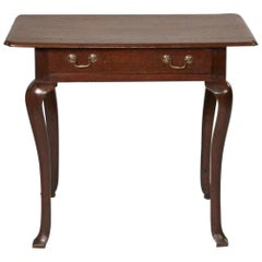 Queen Anne Oak Padfoot Table