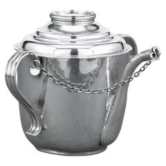 Queen Anne Silver Feeding Cup by John East