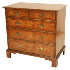 Queen Anne Style Chest of Drawers, Made by Baker Furniture