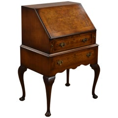 Queen Anne Style Walnut Bureau