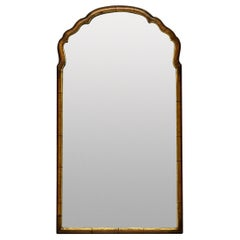 Queen Anne Style Walnut Mirror