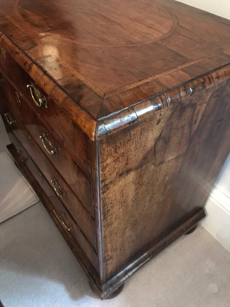 Queen Anne Walnut Chest of Drawers