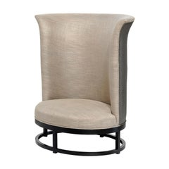 Queen Beige Armchair