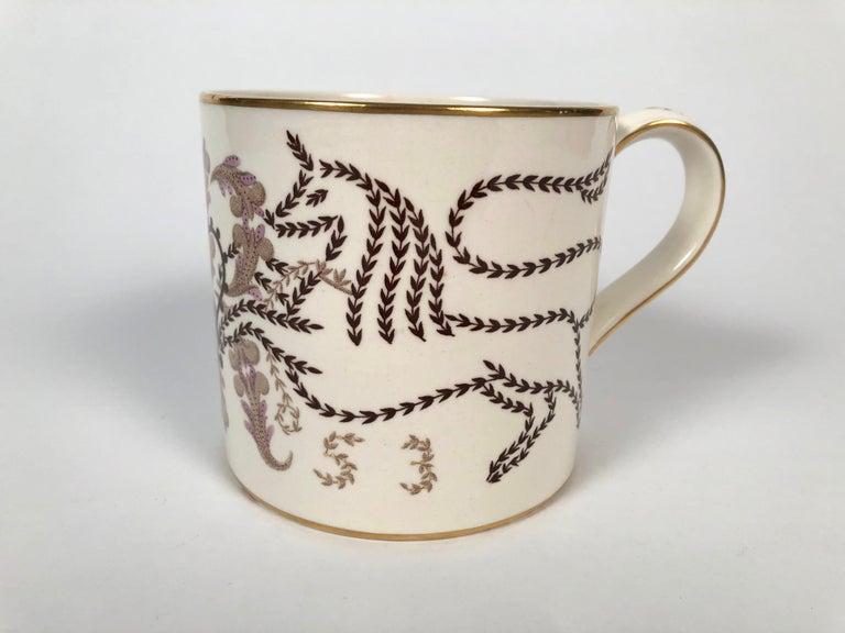 English Queen Elizabeth II Commemorative Coronation Mug by Richard Guyatt for Wedgwood For Sale