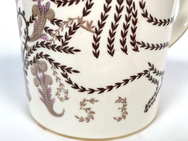Queen Elizabeth II Commemorative Coronation Mug by Richard Guyatt for Wedgwood In Excellent Condition For Sale In Essex, MA