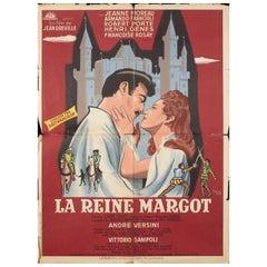"""Queen Margot"" 1954 French Moyenne Film Poster"