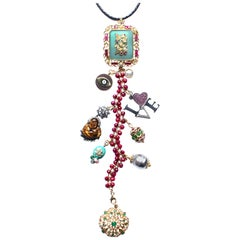 Clarissa Bronfman 'Queen Shiva II' Symbol Tree Necklace