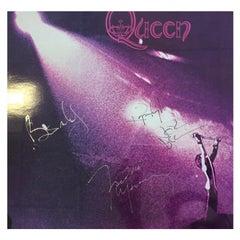 Queen Signed Self-Titled Album