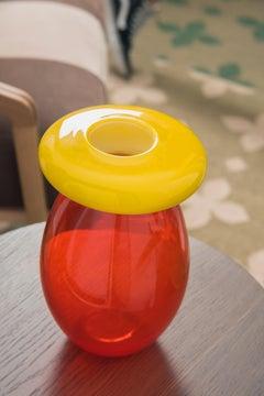 Queen vase in Murano Glass by Karim Rashid (Euro)