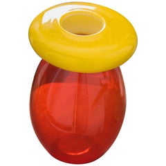 Queen vase in Murano Glass by Karim Rashid