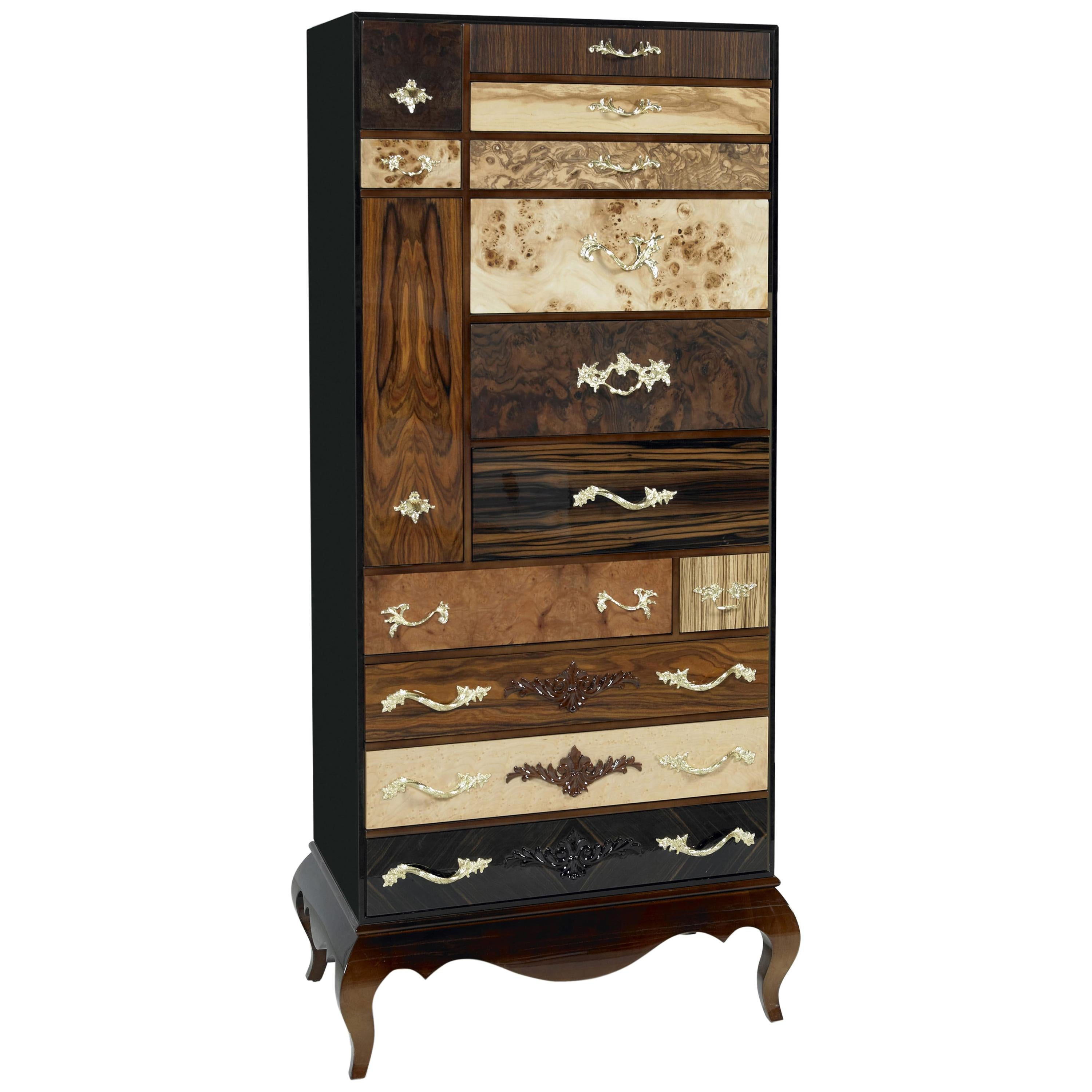 Queens cabinet and dresser in lacquered wood by boca do lobo for sale at 1stdibs