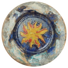 Quentin Bell & Vicky Walton Fulham Pottery Plate, 20th Century