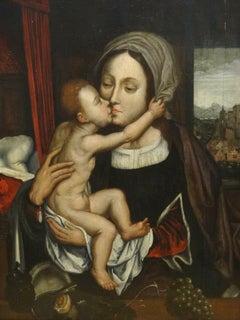 Madonna And Child, 16th Century