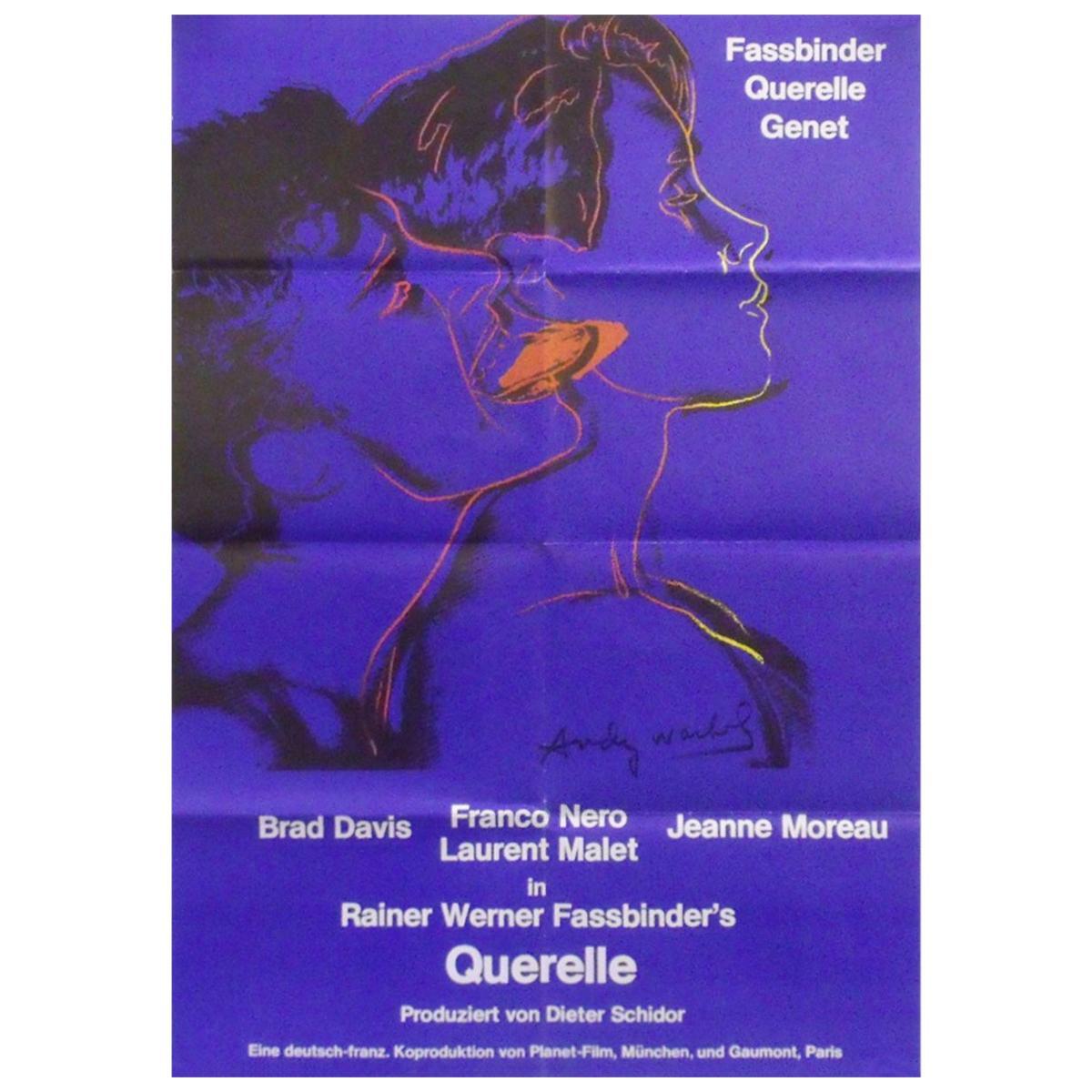 """""""Querelle"""" '1982' Poster"""