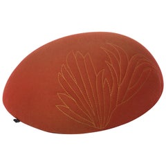 Quetzal Orange Stool by Mool