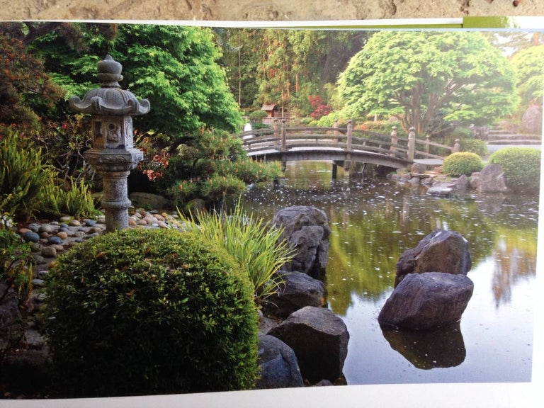 Quiet Beauty: The Japanese Gardens of North America by Kendall H. Brown, author & David M. Cobb, photographer This extraordinary, award winning 176 page hard cover book details history and development of some twenty-six of the most beautiful,
