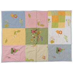 Quilt Patchwork or Padded Blanket for Baby
