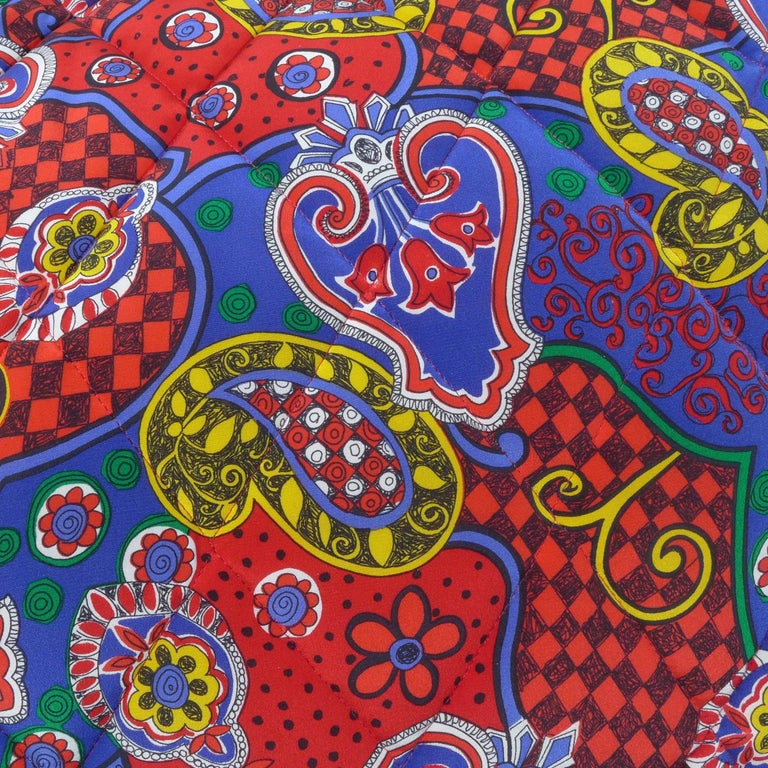 Modern Quilted Silk Pillow by Piet Hein Eek For Sale