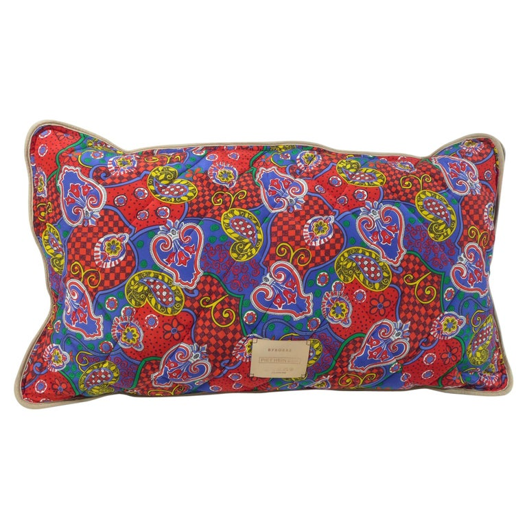 Quilted Silk Pillow by Piet Hein Eek For Sale