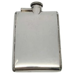 R Blackinton & Co Sterling Silver Hip/Pocket Flask