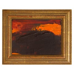 "R. Scott Lalley ""Orange Peeler"" Acrylic on Canvas Framed"