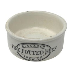 R. Seager Fine Potted Beef Pot