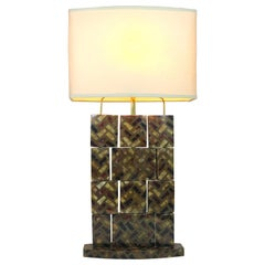 R & Y Augousti Horn Table Lamp-Movable Sections Create Light Interplay