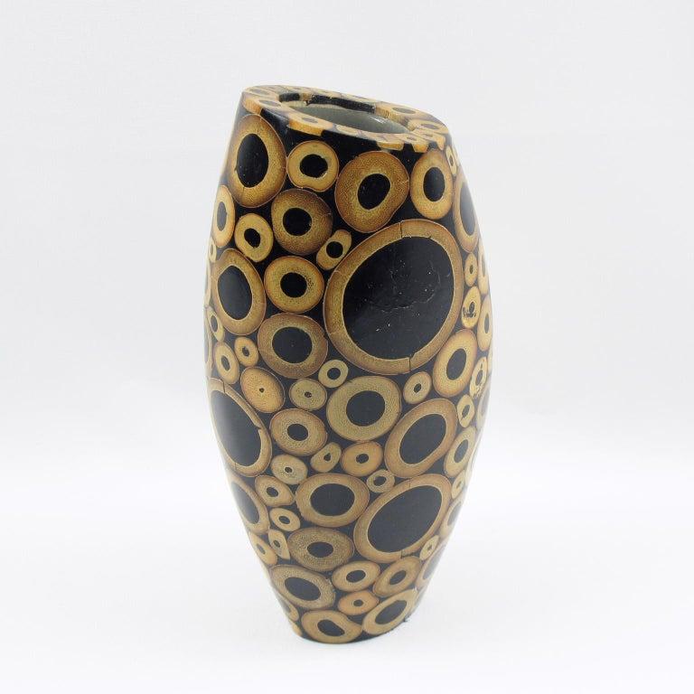 R & Y Augousti Paris Bamboo Vase For Sale 1