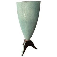 R & Y Augousti Shagreen Vase