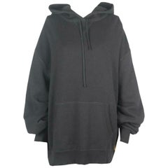 R13 Oversized Distressed Cotton Jersey Hoodie