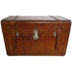 R1547 Russian Leather Trunk