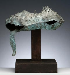 Latin American Raúl Valdivieso Bronze Organic Abstract Sculpture