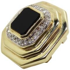 Onyx Pendant Raafty 14k Gold