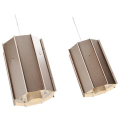 RAAK Amsterdam B1011 Industrial Ceiling Lamps, Holland, 1970