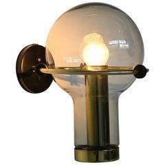 RAAK Amsterdam Model Maxi Globe Wall Lamp, the Netherlands, 1965