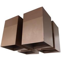 RAAK Copper Quad Ceiling Light
