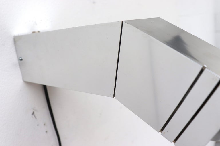 Aluminum RAAK Geometric Industrial Wall Sconce For Sale