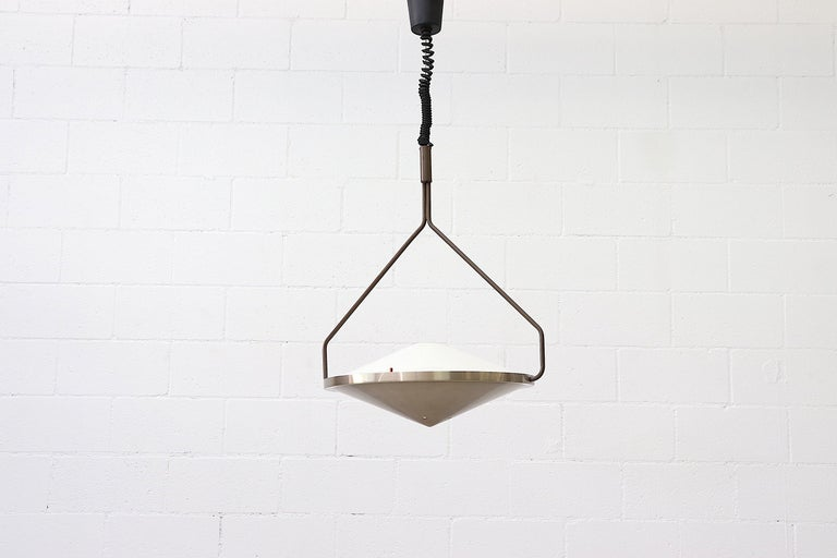 Mid-Century Modern RAAK Kompas Ceiling Lamp For Sale