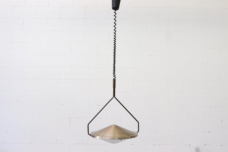 Dutch RAAK Kompas Ceiling Lamp For Sale