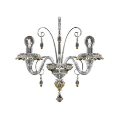 Rabat 4513 02 Wall Sconce in Glass, by Barovier&Toso
