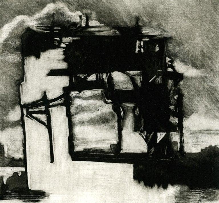 Chelsea Piers - Print by Rachel Burgess