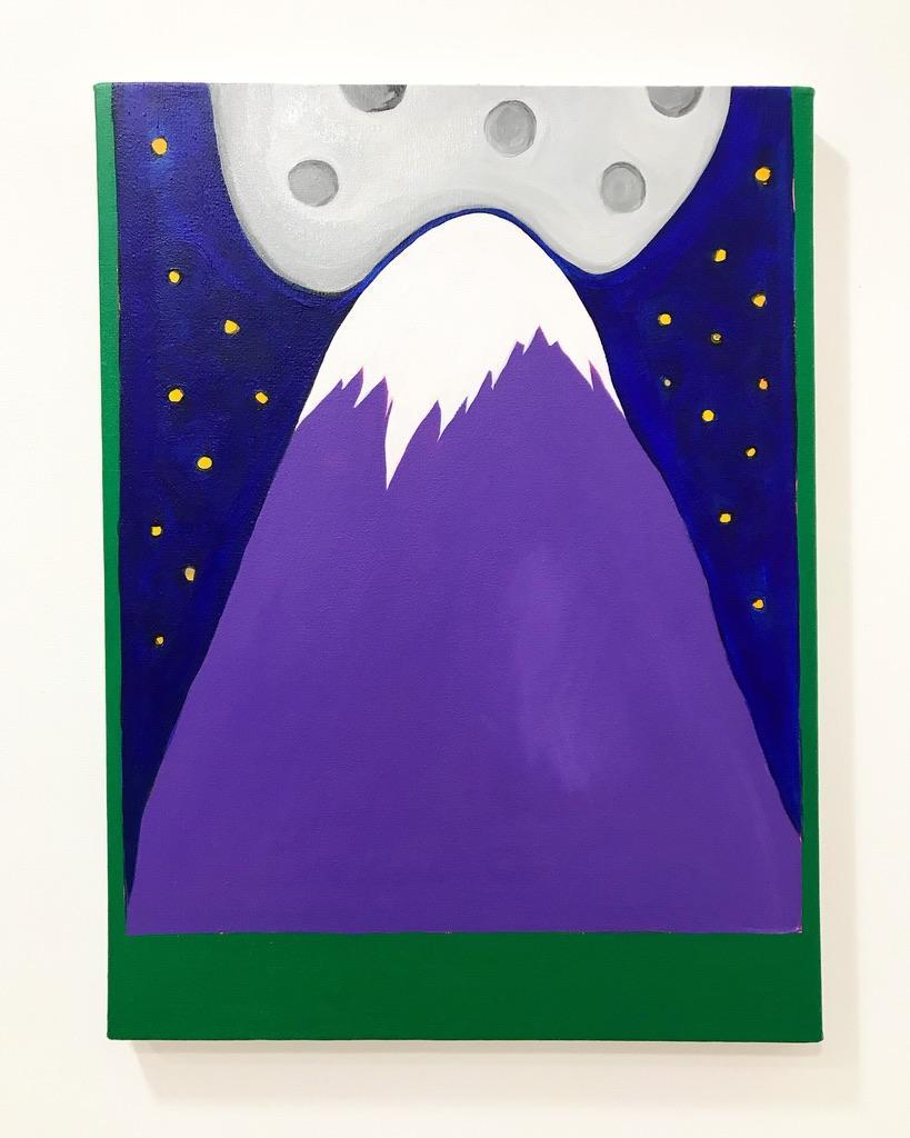 Floppy Moon Painting