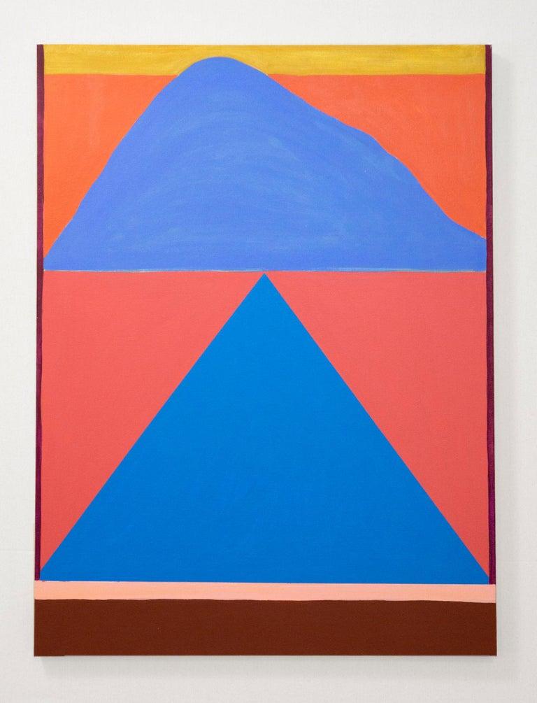 Rachel Chaldu Abstract Painting - Mirage